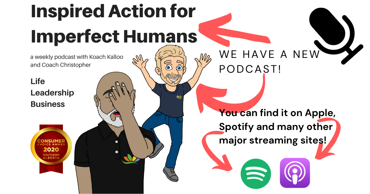 "Image of ""Inspired Action for Imperfect Humans"" podcast"