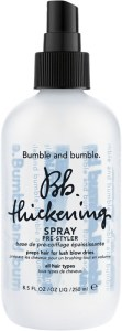 summer products thickening spray bumble and bumble