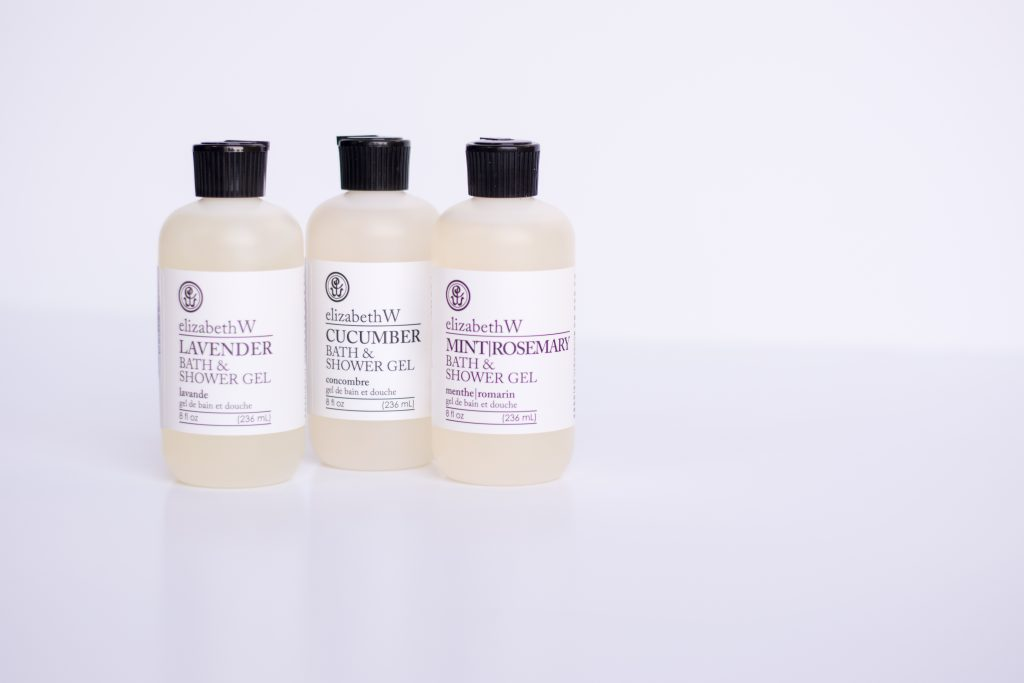 Elizabeth W Bath Shower Gels