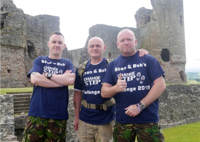 Stan & Bob's Offas Dyke Challenge for North Wales Veterans
