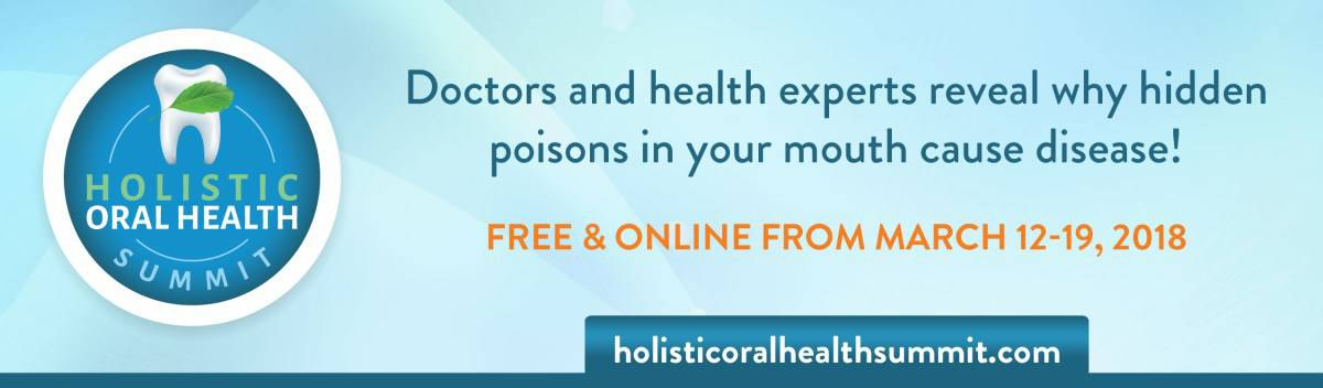 HOH18 email header - The Holistic Oral Health Summit: online & FREE! March 12-19, 2018