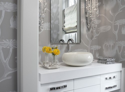 Half Bathroom Or Powder Room: Half Bath Remodeling Ideas For The New Year ⋆ Atlanta's