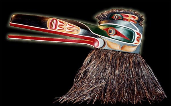 Native Indian Art Canadian Native Art Raven mask