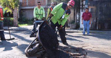 Continúan Bacheo En Calles De Morelia