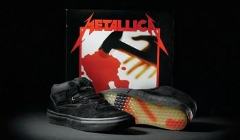 Metallica y Vans presentan edición especial de tenis con diseño de Kill 'Em All.