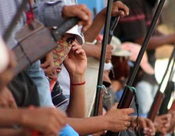 Michoacán comunitarios guardias autodefensas