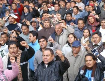 Amenaza CETEG con más manifestaciones ante Informe de Gobierno