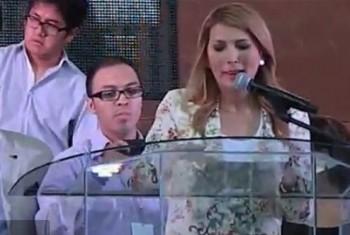 Alcaldesa Monterrey llaves Jesucristo