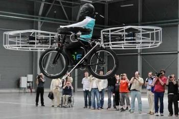 La bici voladora