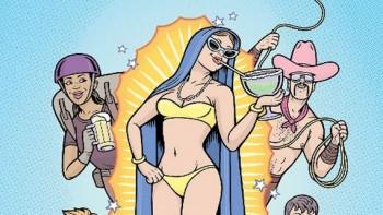 Santa Fe Reporter Virgen de Guadalupe Bikini