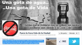 facebook fuera coca cola morelia
