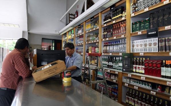 ley seca vinos licores tienda
