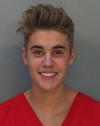 Bieber arrestado