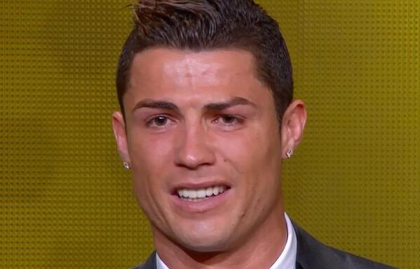 Cristiano Ronaldo lágrimas
