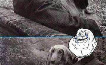 Forever alone y perro