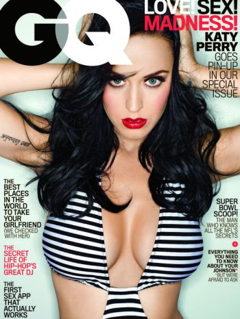 Katy Perry GQ portada