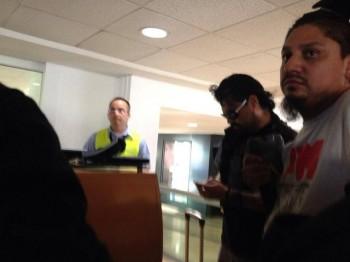 panteón rococó en aeropuerto