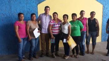 Alfredo Castillo reunión con viudas de Buenavista