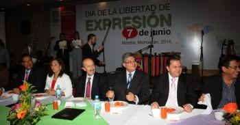 Fausto Vallejo día de la libertad de expresión