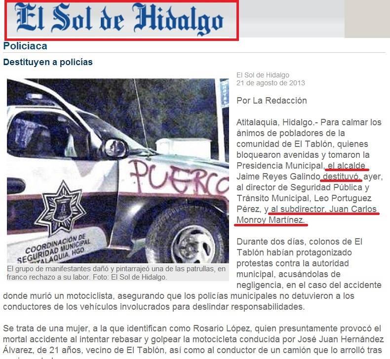 morelia audio mando policia cuotas sol de hidalgo