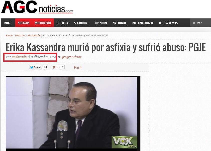 kassandra agc noticias procurador