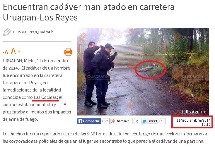 kassandra asesinato hombre las cocinas qdr
