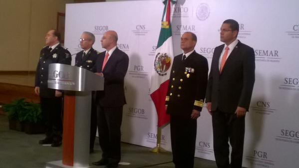 Renato Sales Heredia Comisión Nacional de Seguridad CNS