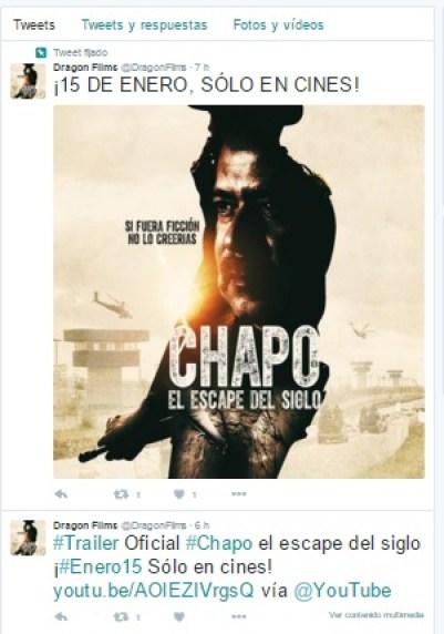 #Video Conoce El Trailer de El Chapo El Escape Del Siglo Estreno Enero 1#Video Conoce El Trailer de El Chapo El Escape Del Siglo Estreno Enero 1