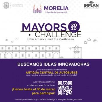Mayors Challenge 2016-ayuntamiento de morelia