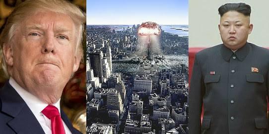 Guerra nuclear Estados Unidos Corea del Norte-