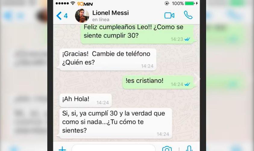 ¡Blop! Checa La Parodia De Cristiano Felicitando A Messi Por Su Cumple