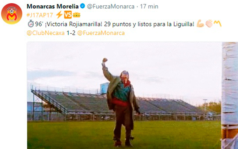 Fuerzamonarca triunfa con un gol de diferencia contra for Noticias de ultima hora espectaculos mexico