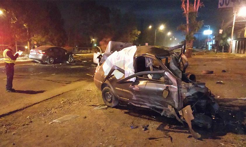 #Morelia Tres Muertos Y Dos Lesionados Deja Aparatoso Accidente En La Salida A Charo