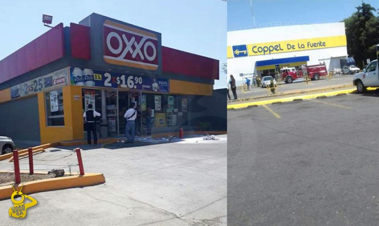 Oxxo Coppel incendio