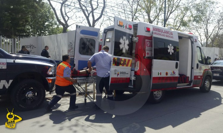 ambulancia herido