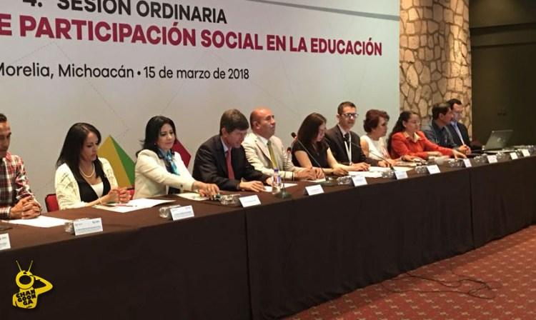 consejo educacion SEE Michoacan