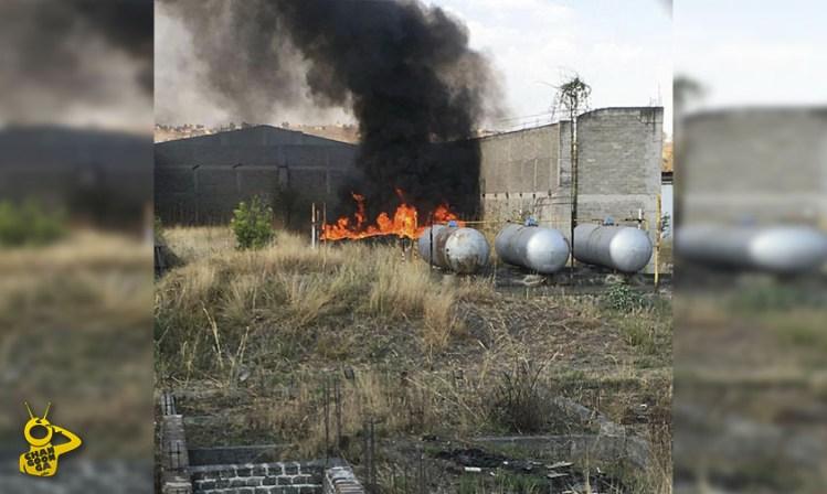 incendio llantera Morelia