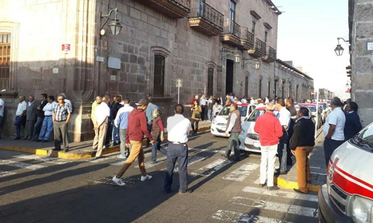 manifestación transformación gasolina gas Morelia