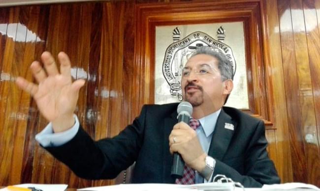 Medardo Serna Reforma UMSNH