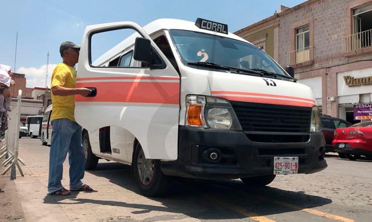 aumento transporte público Michoacán a