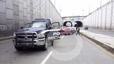 Photo of #Morelia Por Exceso De Velocidad Fuerte Choque En Salida Quiroga