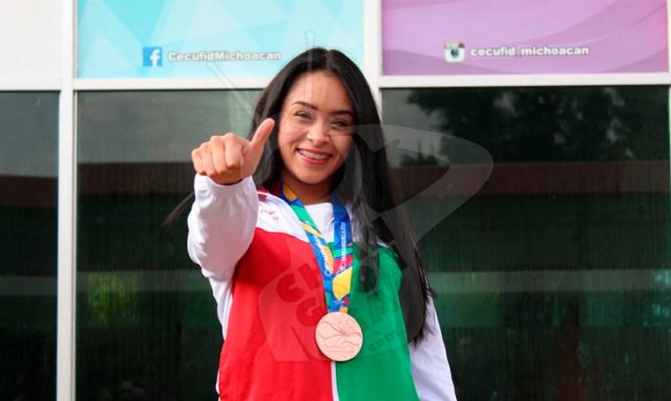 Daniela Rodríguez ganadora Michoacán