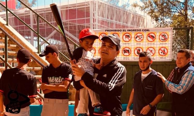 Béisbol Silvano Aureoles Conejo