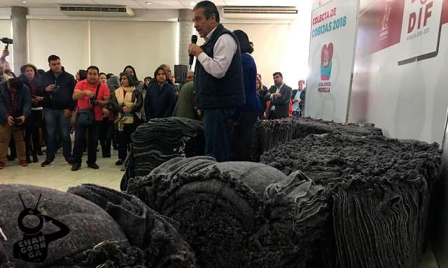 cobijas desechaables Morelia Raúl Morón Orozco a