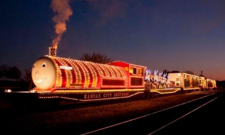 tren navideño Morelia KCS 2018