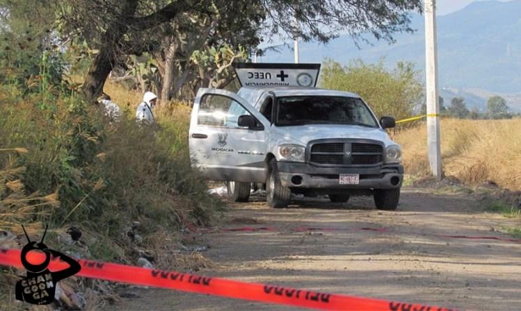matan pareja Zinapécuaro Michoacán
