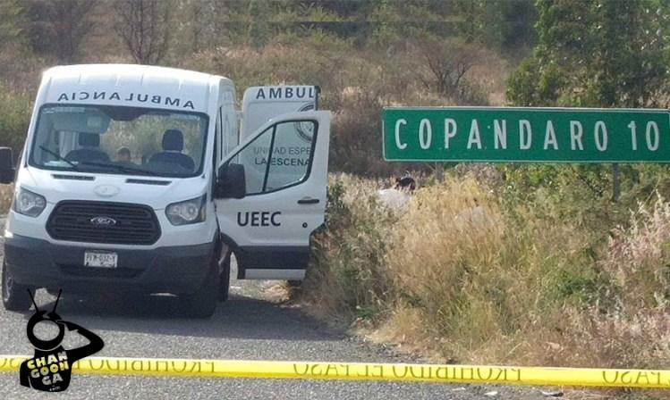 mujer homicidio Copándaro Michoacán