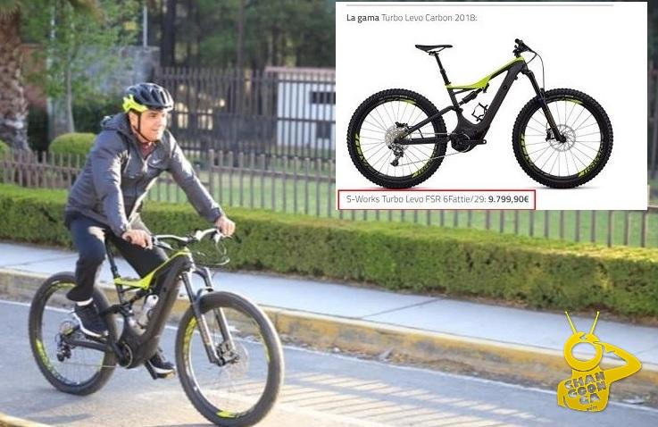 Silvano Promueve Uso De La Bicicleta Con Una De 200 Mil Pesos ...Eléctrica!