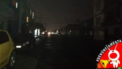 #Denúnciamesta-luminarias-lluvias