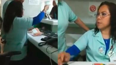 "Photo of #Video Trabajadora Del IMSS Niega Insulina A Señora ""Porque Llegó 4 Minutos Tarde"""